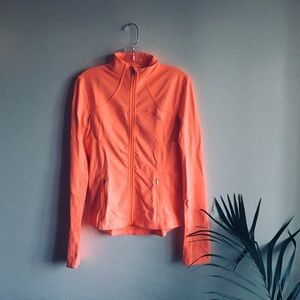 🍋Bright Coral Define Jacket From Lululemon Size 6
